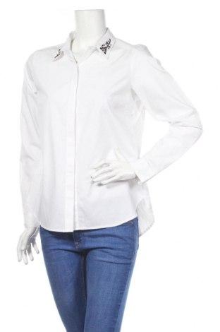Dámska košeľa  Tom Tailor, Veľkosť M, Farba Biela, 71% bavlna, 26% polyester, 3% elastan, Cena  30,41€