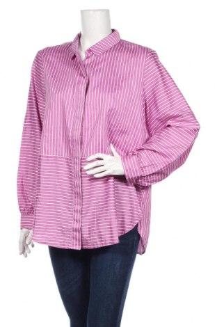 Dámska košeľa  Tom Tailor, Veľkosť XL, Farba Fialová, Bavlna, Cena  26,80€