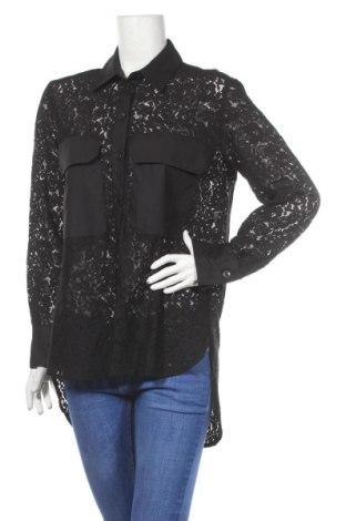 Dámska košeľa  Zara, Veľkosť M, Farba Čierna, Bavlna, Cena  18,19€
