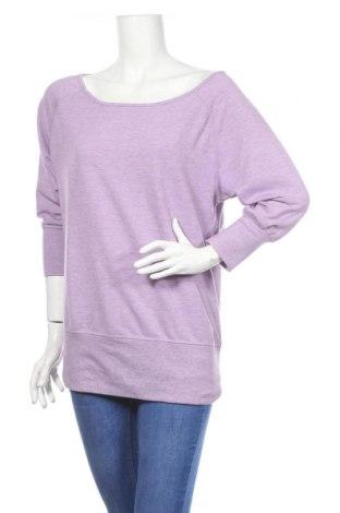Дамска спортна блуза Active By Tchibo, Размер S, Цвят Лилав, 63% полиестер, 32% вискоза, 5% еластан, Цена 23,94лв.