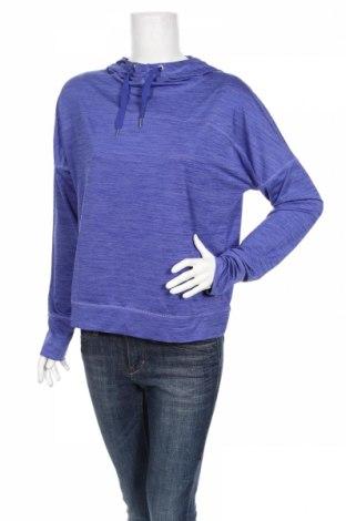 Дамска спортна блуза Active By Tchibo, Размер M, Цвят Син, 88% полиестер, 12% еластан, Цена 14,95лв.