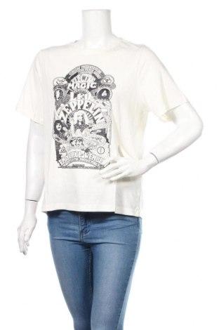 Dámske tričko H&M, Veľkosť M, Farba Kremová, 100% bavlna, Cena  10,76€