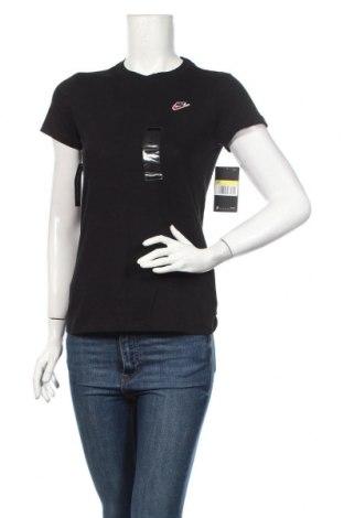 Dámske tričko Nike, Veľkosť S, Farba Čierna, Bavlna, Cena  25,61€