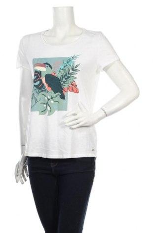 Dámske tričko Tom Tailor, Veľkosť L, Farba Biela, Bavlna, Cena  16,49€