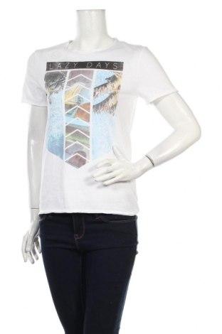 Dámske tričko Tom Tailor, Veľkosť M, Farba Biela, Cena  14,95€