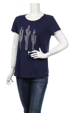 Dámske tričko Tom Tailor, Veľkosť L, Farba Modrá, Bavlna, Cena  16,49€