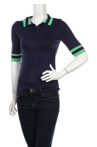 Dámske tričko Tom Tailor, Veľkosť XS, Farba Modrá, 96% viskóza, 4% elastan, Cena  20,10€