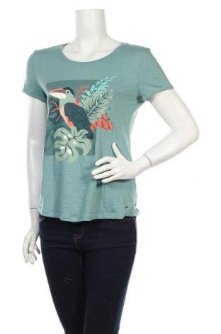 Dámske tričko Tom Tailor, Veľkosť S, Farba Modrá, Bavlna, Cena  20,10€
