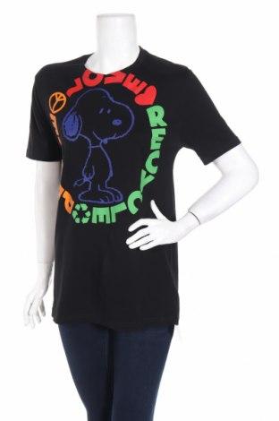 Γυναικείο t-shirt United Colors Of Benetton, Μέγεθος M, Χρώμα Μαύρο, Βαμβάκι, Τιμή 16,08€