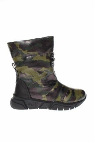 Γυναικείες μπότες Love Moschino, Μέγεθος 39, Χρώμα Πράσινο, Γνήσιο δέρμα, Τιμή 192,50€