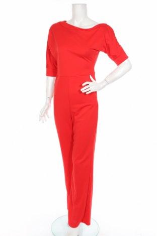Salopetă de femei, Mărime M, Culoare Roșu, 95% poliester, 5% elastan, Preț 90,98 Lei