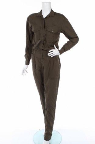 Salopetă de femei H&M, Mărime S, Culoare Verde, 72% modal, 28% poliester, Preț 103,99 Lei