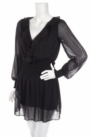Salopetă de femei Zara, Mărime XS, Culoare Negru, Poliester, Preț 90,98 Lei