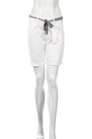 Γυναικείο κοντό παντελόνι Tom Tailor, Μέγεθος XS, Χρώμα Λευκό, 98% βαμβάκι, 2% ελαστάνη, Τιμή 16,08€