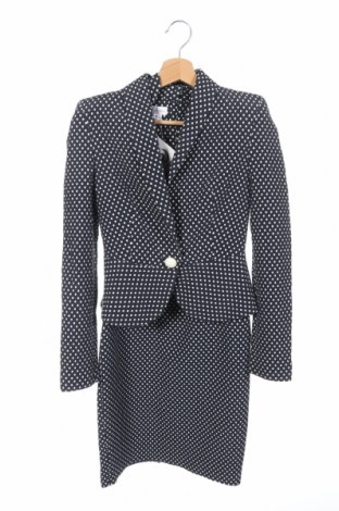 Дамски костюм Madame, Размер XS, Цвят Син, 75% памук, 25% полиестер, Цена 13,20лв.