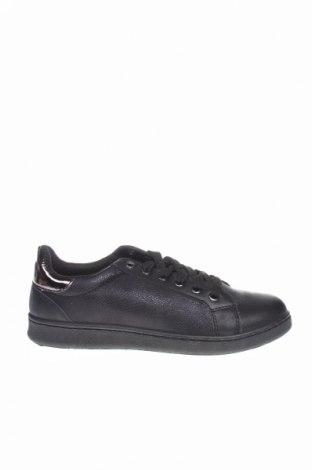 Dámske topánky , Veľkosť 39, Farba Čierna, Eko koža , textil, Cena  18,19€