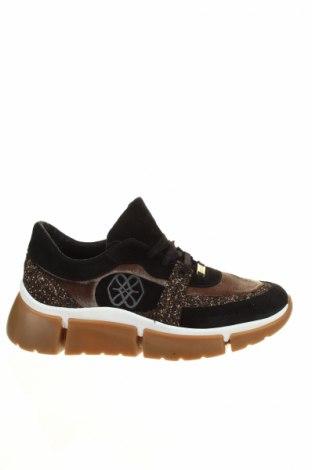 Dámske topánky  Cuple, Veľkosť 38, Farba Čierna, Prírodný velur , textil, Cena  77,62€