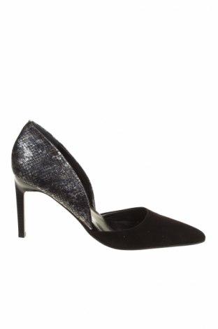 Dámske topánky  Elizabeth Stuart, Veľkosť 39, Farba Čierna, Pravá koža , Prírodný velur , Cena  41,71€