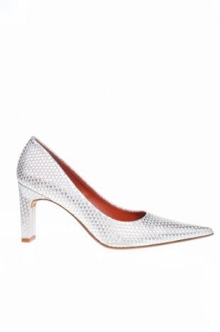 Dámske topánky  Elizabeth Stuart, Veľkosť 38, Farba Strieborná, Pravá koža , Cena  41,71€