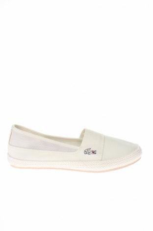 Dámske topánky  Lacoste, Veľkosť 37, Farba Biela, Textil, Cena  87,11€