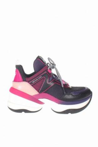 Дамски обувки MICHAEL Michael Kors, Размер 38, Цвят Многоцветен, Текстил, естествена кожа, Цена 167,70лв.