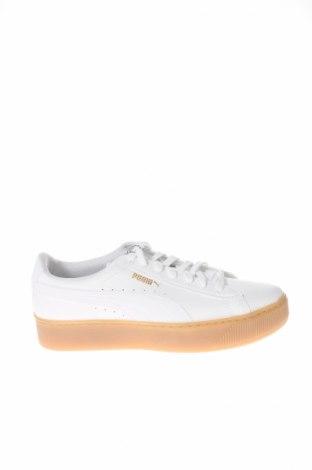 Dámske topánky  PUMA, Veľkosť 40, Farba Biela, Pravá koža , Cena  55,73€
