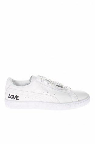 Dámske topánky  PUMA, Veľkosť 37, Farba Biela, Pravá koža , Cena  55,73€