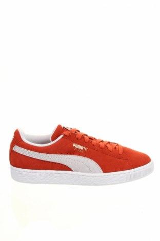 Dámske topánky  PUMA, Veľkosť 39, Farba Oranžová, Prírodný velur , Cena  87,11€