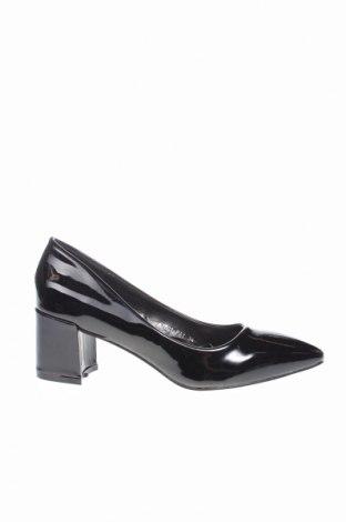 Dámske topánky  Tata, Veľkosť 39, Farba Čierna, Eko koža , Cena  23,75€