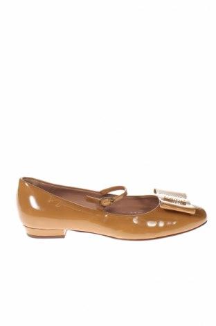 Dámske topánky  Twin-Set Simona Barbieri, Veľkosť 38, Farba Hnedá, Pravá koža , Cena  68,46€