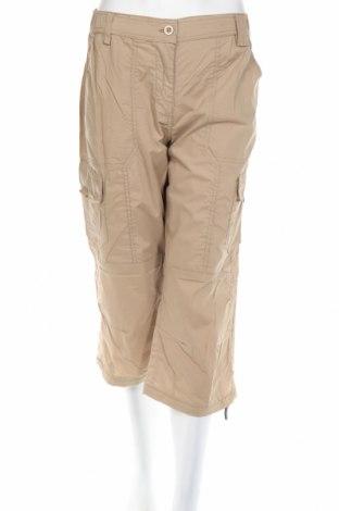 Дамски панталон Maui Sports, Размер L, Цвят Бежов, 65% полиестер, 35% памук, Цена 19,68лв.