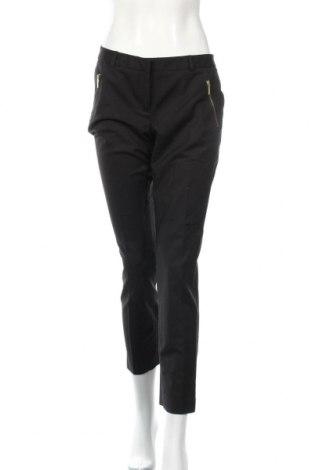 Дамски панталон Michael Kors, Размер M, Цвят Черен, 97% памук, 3% еластан, Цена 74,53лв.