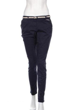 Дамски панталон Tom Tailor, Размер L, Цвят Син, 98% памук, 2% еластан, Цена 56,88лв.