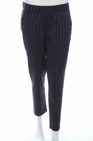 Дамски панталон Zara Trafaluc, Размер M, Цвят Син, 64% полиестер, 35% вискоза, 1% еластан, Цена 28,50лв.