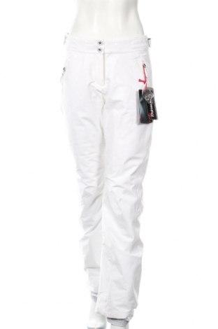 Дамски панталон за зимни спортове Rossignol, Размер M, Цвят Бял, Полиамид, полиестер, Цена 121,37лв.