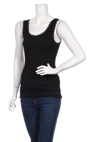 Női trikó Tom Tailor, Méret M, Szín Fekete, 95% pamut, 5% elasztán, Ár 7000 Ft