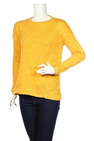 Дамски пуловер Atmosphere, Размер S, Цвят Жълт, 68% акрил, 17% полиамид, 15% полиестер, Цена 29,40лв.