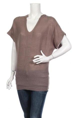 Дамски пуловер By Leatitia, Размер M, Цвят Кафяв, 70% акрил, 30% вълна, Цена 4,41лв.