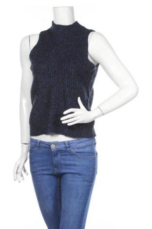 Γυναικείο πουλόβερ Cue, Μέγεθος S, Χρώμα Μπλέ, 55%ακρυλικό, 30% πολυαμίδη, 8% μαλλί, 7% μοχαίρ, Τιμή 7,64€