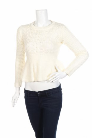 Дамски пуловер Derek Heart, Размер L, Цвят Екрю, Акрил, Цена 22,93лв.