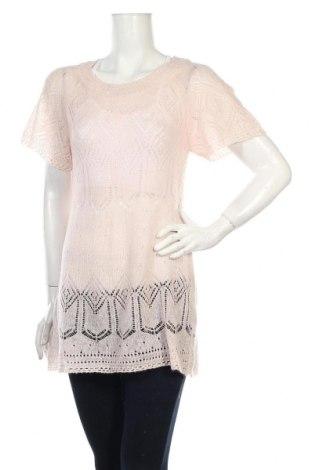 Дамски пуловер H&M, Размер XS, Цвят Розов, Цена 6,44лв.
