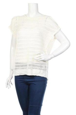 Дамски пуловер Now, Размер L, Цвят Бял, Акрил, Цена 5,54лв.