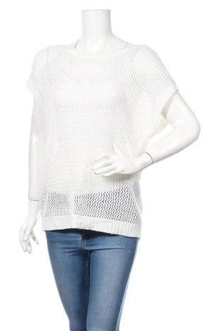 Дамски пуловер Now, Размер M, Цвят Бял, Акрил, метални нишки, Цена 3,97лв.