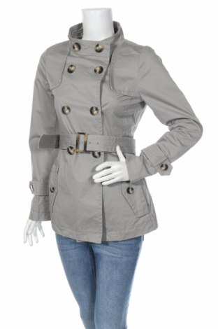Dámsky prechodný kabát  Cerruti 1881, Veľkosť M, Farba Sivá, Bavlna, Cena  53,58€
