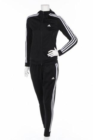 Дамски спортен комплект Adidas, Размер XS, Цвят Черен, Полиестер, Цена 149,00лв.