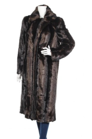 Γυναικείο παλτό Dondup, Μέγεθος L, Χρώμα Καφέ, 78%ακρυλικό, 22% πολυεστέρας, Τιμή 119,65€