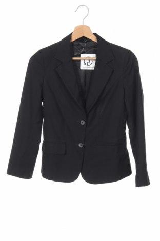 Дамско сако A Dong Silk, Размер XS, Цвят Черен, Цена 23,52лв.