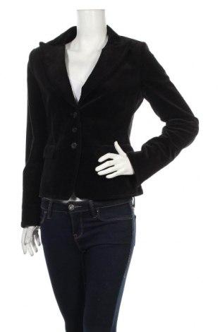 Дамско сако H&M, Размер M, Цвят Черен, 97% памук, 3% еластан, Цена 22,64лв.