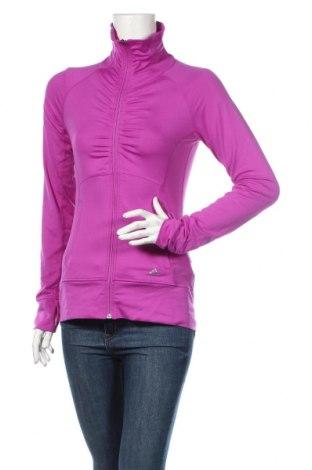 Γυναικεία αθλητική ζακέτα Adidas, Μέγεθος XS, Χρώμα Βιολετί, 92% πολυεστέρας, 8% ελαστάνη, Τιμή 25,92€