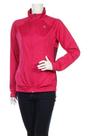 Γυναικεία αθλητική ζακέτα Adidas, Μέγεθος M, Χρώμα Ρόζ , 88% πολυεστέρας, 12% ελαστάνη, Τιμή 20,98€